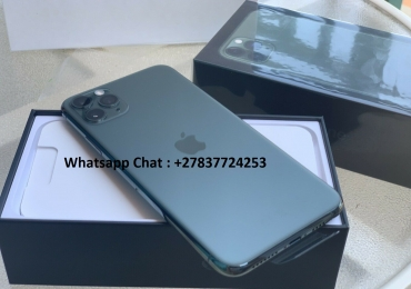 Apple iPhone 11 Pro 64GB = €600,iPhone 11 Pro Max 64GB = €650 ,iPhone XS 64GB = €400 , iPhone XS Max 64GB = €430 ,  Whatsapp Chat : +27837724253