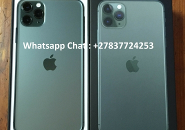 Apple iPhone 11 Pro  64GB = $600USD  , Apple iPhone 11 Pro Max  64GB =   $650US , Apple iPhone 11  64GB =  $470,Apple iPhone XS 64GB = $450USD , iPhone XS Max 64GB = $480USD , Whatsapp Chat: +27837724253