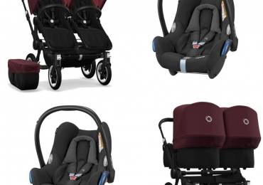 Bugaboo Donkey 2 Twin Travel Set 3-in-1