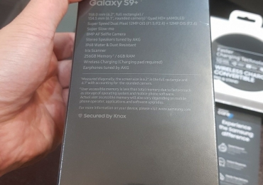 Samsung Galaxy S9 plus 256GB samsung Note9