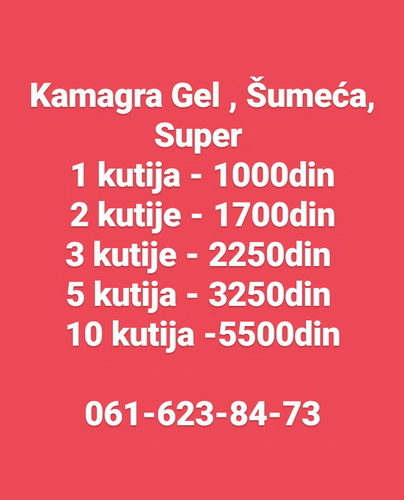 Kamagra Gel, Šumeca, Super 061/623-84-73